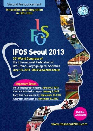 IFOS Seoul 2013 - S.I.O.e.Ch.CF.