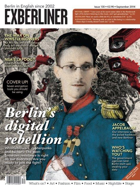 EXBERLINER Issue 130, September 2014