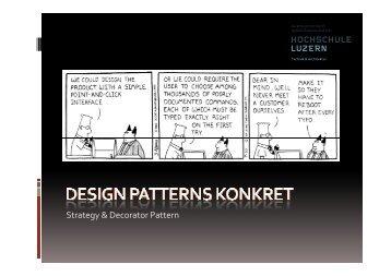 Design Patterns konkret - Wikis on enterpriselab.ch