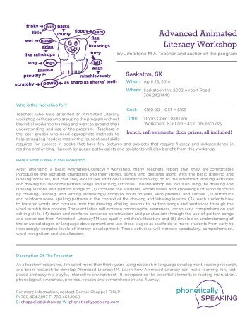 Advanced Animated Literacy Workshop - Karelo.com