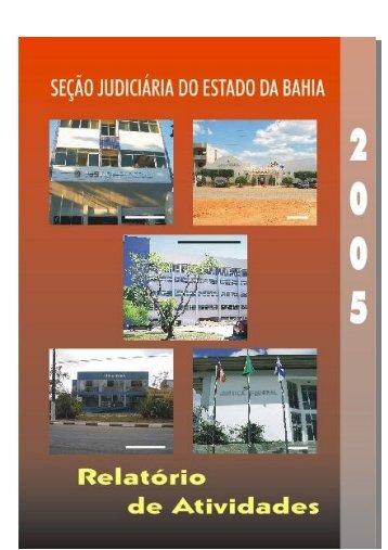 Atividades 2005 - Justiça Federal