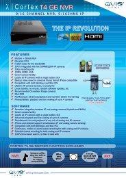 T4 G6 NVR - Qvis Security
