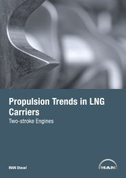 Propulsion Trends in LNG Carriers - MAN Diesel & Turbo