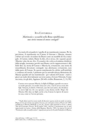 1/2005 - Storia delle Donne