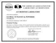 the american association for laboratory accreditation accredited ...