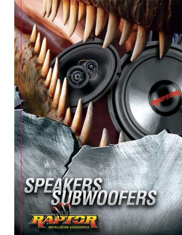 Download 2008 Raptor Speakers Brochure