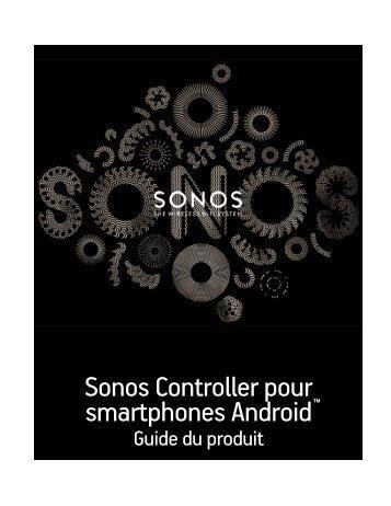Sonos Controller pour smartphones Android - Almando
