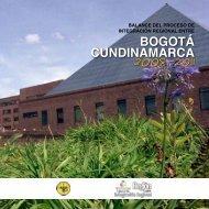 Balance del Proceso de Integración Regional Entre Bogotá y ...