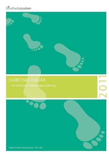 Rapporten Diabetiske fodsår uden bilag - Sundhedsstyrelsen