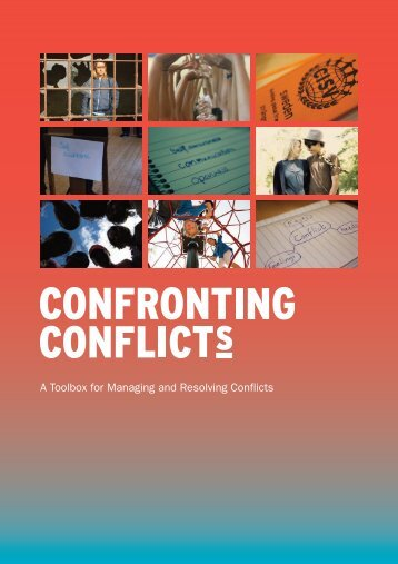A Toolbox for Managing and Resolving Conflicts