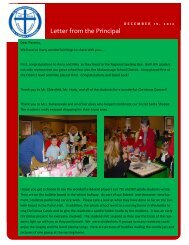 December 19 - St. Joseph Catholic Faith Community