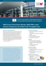 aris ppm - IDS Scheer AG