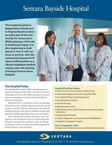 Sentara Bayside Hospital - Sentara.com