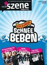 Neue Szene Augsburg 2014-12