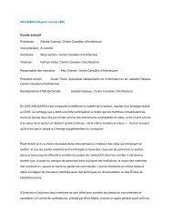 ARLIS/MOQ Rapport annuel 2005 Comité exécutif ... - arlis/na moq