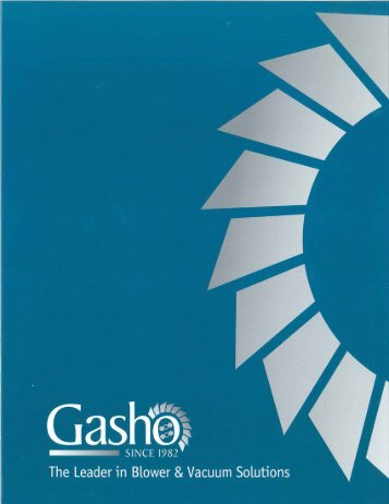 View Company Brochure - Gasho.org