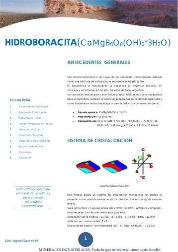 Hidroboracita