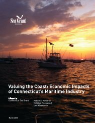 Valuing the Coast: Economic Impacts of Connecticut's Maritime