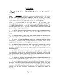 Land Development Code - Article 6 - Santa Rosa County