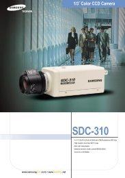 1/3˝ Color CCD Camera SDC-310