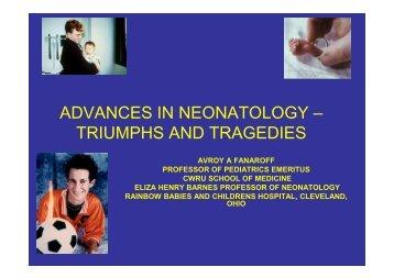 Neonatology - Healthcare Professionals