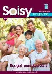 Budget municipal 2012 - Soisy sous Montmorency