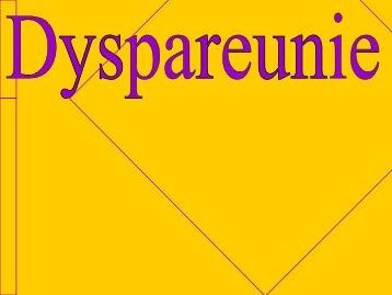 Dyspareunie