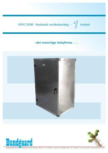 WWC - 1 (15-190 kW) Vandkølet vandkøleanlæg - Bundgaard ...