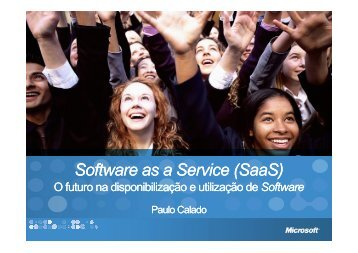 Software + Services Software as a Service