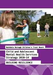 Child and Adolescent Mental Health Services (CAMHS) Strategy