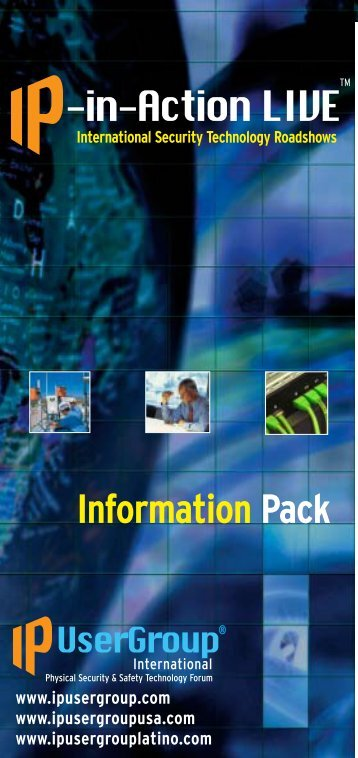 Information Pack - IP UserGroup