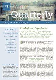 Download (pdf, 741 KB) - f/21 - Büro für Zukunftsfragen