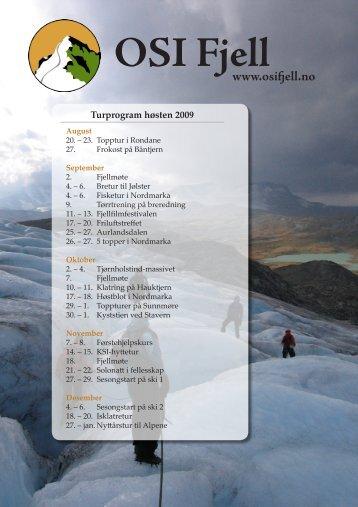 September - OSI Fjell