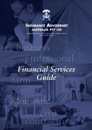 Financial Services Guide - Ski & Snowboard Australia