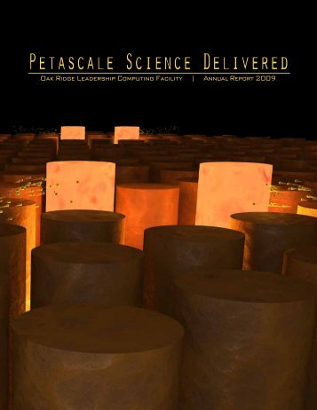 Petascale Science Delivered - Oak Ridge National Laboratory