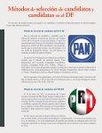 Métodos de Selección de candidatos y candidatas en el DF - Page 2