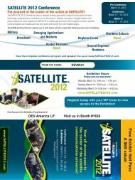 SATELLITE 2012 Hall Pass - DEV Systemtechnik