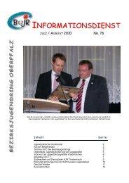 infodienst_76_juli_august 2010.pdf - Bezirksjugendring Oberpfalz