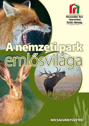 A nemzeti park - Fertő-Hanság Nemzeti Park