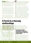 A nemzeti park - Fertő-Hanság Nemzeti Park - Page 4