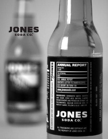 Year Ended December 31, 2012 - Jones Soda