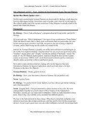 Ask-a-Biologist vol 031 - Topic - Ask A Biologist - Arizona State ...