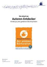 Bericht über die Arbeit der Autorenentdecker 2010
