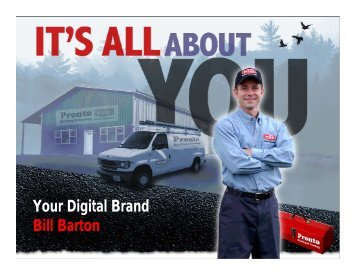Your Digital Brand Bill Barton - dealer resources