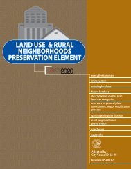 Land Use and Rural Neighborhoods ... - City of Las Vegas