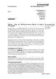 Pålæg af tilslutningspligt til Silkeborg Varme A/S - Energiklagenævnet