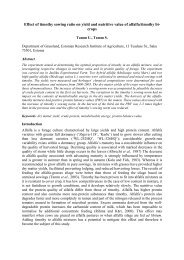 Effect of timothy sowing ratio on yield and nutritive value of alfalfa ...