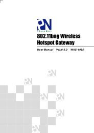802.11bng Wireless Hotspot Gateway - WiFi Shop