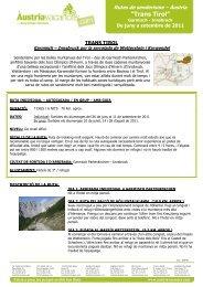"""Trans Tirol"" - Vacances Actives"