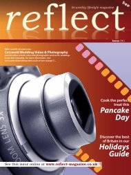 Cotswold Wedding Video & Photography - Reflect Magazine